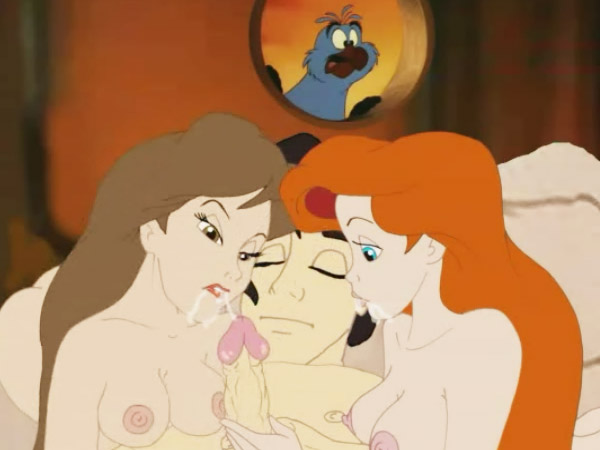 Belle sex naked ariel and having