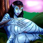 New Avatar porn comics from Pandora