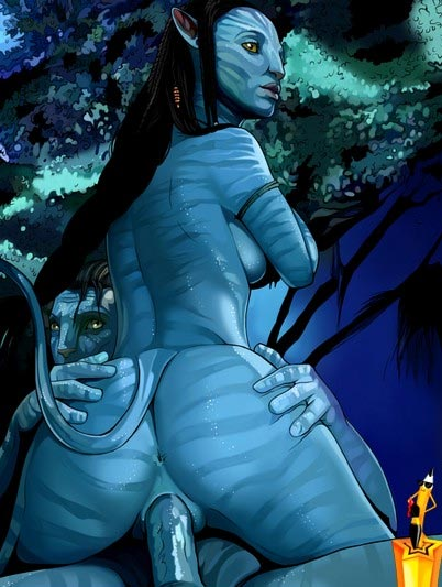 More Avatar sex on Pandora in new Avatar porn toon