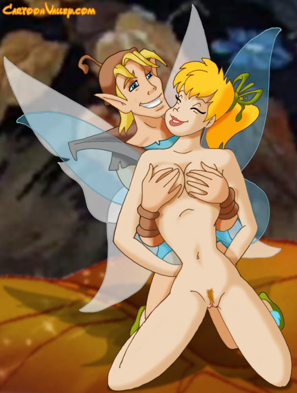 Tinkerbell and Terrance porn