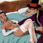 Princess Tiana porn where Dr. Facilier bangs Tiana