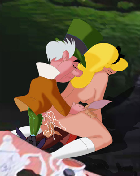 Alice in wonderland cartoon sex
