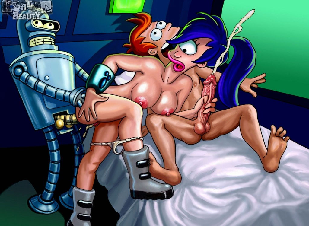 characters cartoon Futurama porn