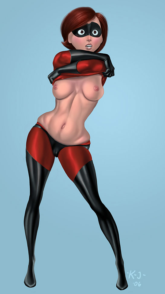 Helen Parr cartoon porn