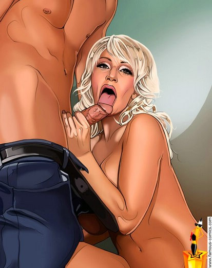 Lady Gaga sex comics