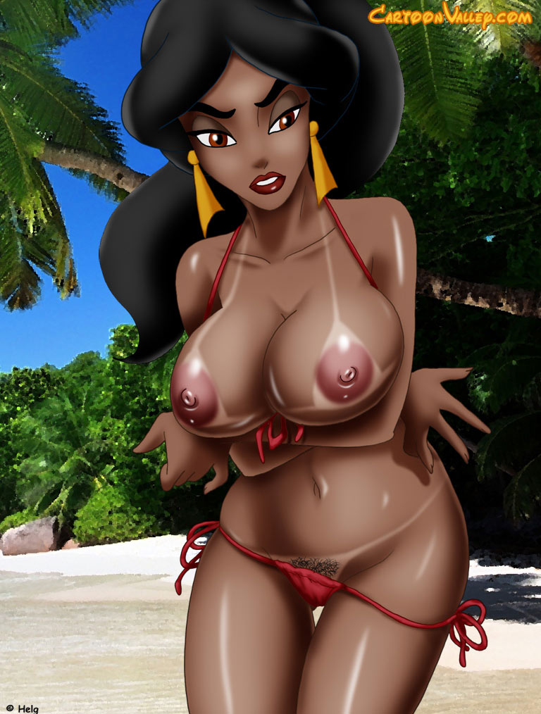 Disney Jasmine In A Bikini Via Cartoon Valley Xxx