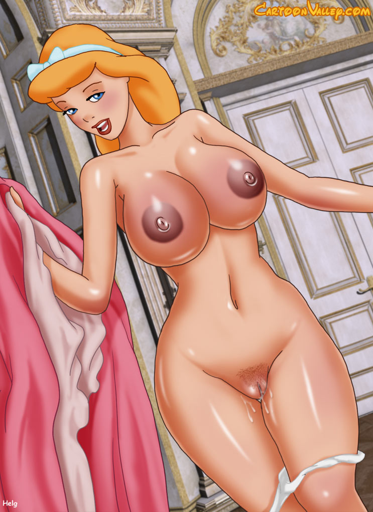 Naked Princess Cinderella