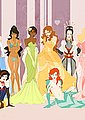 Disney Princesses naked