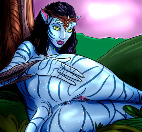 New Avatar porn comics from Pandora