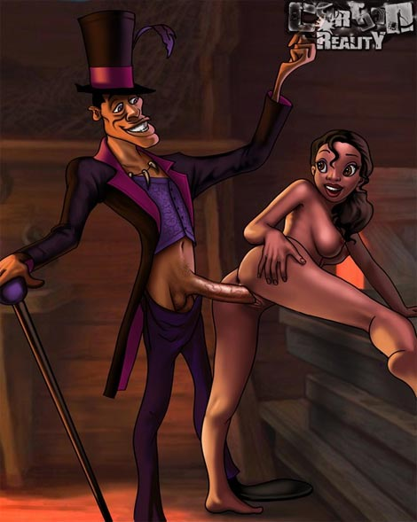 Princess and the Frog cartoon porn