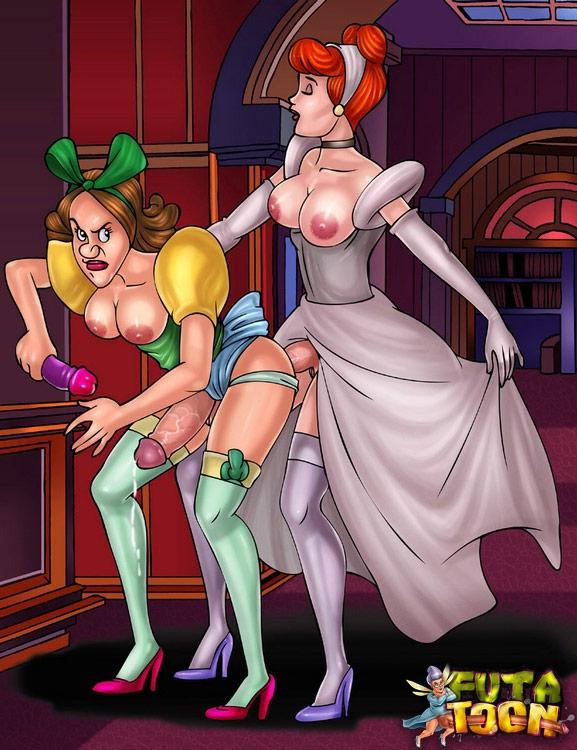 Cinderella porn toons